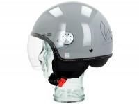 Helmet -VESPA Visor 3.0- grey lucido (715C) - XS (52-54cm)