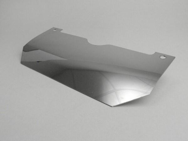 Splash plate center stand -LAMBRETTA- LI (Series 2, since 10.1959), TV (Series 2, since 10.1959) - stainless steel
