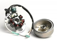 Ignition -BGM ORIGINAL- Minarelli 50 cc (Yamaha) horizontal - 40cm wire