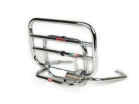 Rear rack, fold down -FACO- Vespa LX, LXV - chrome