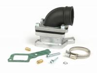 Collettore aspirazione - per valvola lamellare -MALOSSI lamellare X360- Vespa PX80, PX125, PX150, T5, Cosa 125-200 - attacco=34mm
