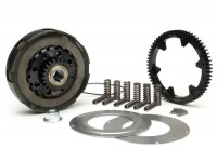 Clutch incl. primary drive set -BGM Pro Superstrong, type Cosa2/FL- primary gear BGM Pro 63 tooth (straight) - Vespa PX80, PX125, PX150, PX200, Cosa, T5, Sprint150 Veloce, Rally, GTR, TS125, Super150 (VBC) - 23/63 tooth (2.74)