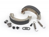 Brake shoes kit JBS -JOCKEYS- Lambretta LI (series 3), LIS, SX, TV (series 3), DL, GP
