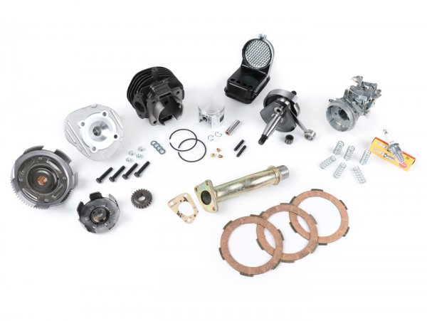 Tuningkit 55mph -POLINI 102 cc- Vespa PK50 XL2/FL - Sport setup