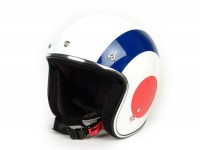 Helmet -VESPA 2.0 open face helmet Flag- France - S (55-56cm)