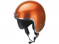 Helm -RB-765 metal flake- orange - L (59-60 cm)