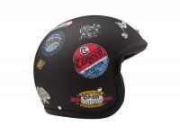 Helmet -DMD Jet Vintage- open face helmet, vintage - Sticky - L (59cm)