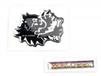 Aufkleber -MALOSSI 3D- Löwe