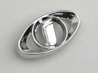 Badge legshield -LAMBRETTA- Innocenti emblem - Lui 50-75