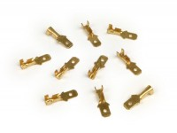 Crimp terminal - male spade connector 4.8mm Ø=0.5-1.0mm²- DIN 46343 - 10 pcs