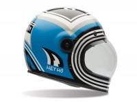 Helm -BELL Bullitt Special Edition, Barn Fresh- Integralhelm, blau/schwarz -