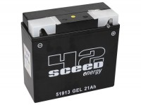 Batterie -Gel SCEED 42 Energy- Typ BMW 51913 12V, 21Ah - 186x82x170mm