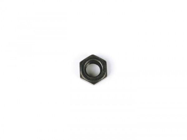 Dado -DIN 934- M8 - zincato nero