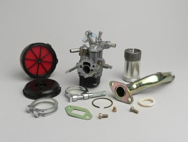 Carburator kit -MALOSSI 2-stud, Dellorto 16/16mm SHB- Vespa V50