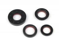 Kit retenes motor -MALOSSI PTFE/FPM- Minarelli 50cc AC/LC