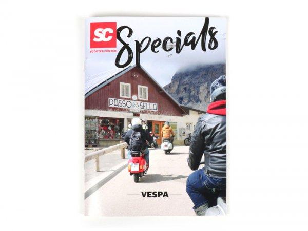 Catalogo -SC Specials: VESPA 80 pagine- edizione 2019 - tedesco