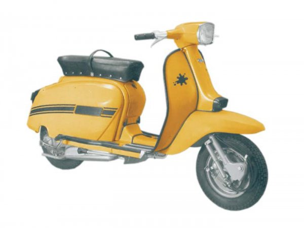 Lambretta (Innocenti) DL 200 (GP 200)