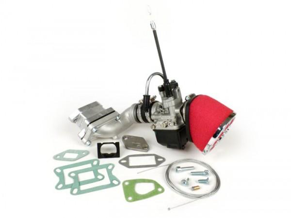 Carburator kit -MALOSSI MK 2 136 cc reed valve, 25mm Dellorto PHBL- Vespa V50, V90, PV125, ET3