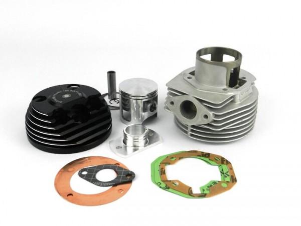 Zylinder -PARMAKIT TSV66 'sixty six' 195ccm 3 Kanal, 57mm Hub, 110mm Pleuel, Ø16mm Kolbenbolzen - Vespa PX125, PX150, Cosa125, Cosa150, LML Star 125/150, Stella 125/150