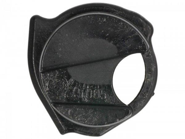 Einsatz für Ölfilterdeckel -PIAGGIO- Vespa GT 250 (ZAPM45102), Vespa GT L 125 (ZAPM31101), Vespa GTS 125 (ZAPM31300), Vespa GTS 250 (ZAPM45100, ZAPM45101), Vespa GTS 300 (ZAPM45200, ZAPM45202, ZAPMA3300), Vespa GTS HPE 300 (ZAPMA3600, ZAPMD310), Vesp