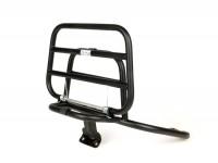 Rear rack, fold down -FA ITALIA- Vespa LX50, LX125, LX150, Vespa LXV50, LXV125, Vespa S50, S125, S150 - chrome - matt black