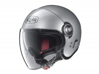 Helmet -NOLAN, N21 Visor Classic- jet helmet, platinum silver - S (56cm)