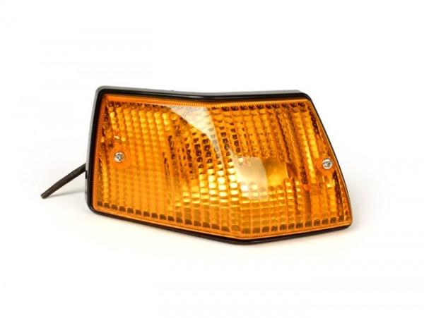 Intermitente -SIEM- Vespa PX80, PX125, PX150, PX200, T5 125cc - trasero izquierdo - naranja