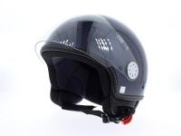 Helm -VESPA Visor 2- silber (Dolomiti) - XL (61-62cm)