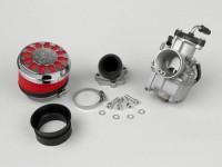 Kit Carburatore -MALOSSI 28mm Dellorto VHST- Minarelli 50 ccm 2 tempi (cilindro orizzontale) - AM=28mm - (139QMB) - ADLY BT50, APRILIA SCARABEO50 PIA,BAOTIAN BT49QT10, BT49QT11RETRO, BT49QT12, BT49QT12C1, BT49QT12DHERO, BT49QT12G, BT49QT18, BT49QT20A