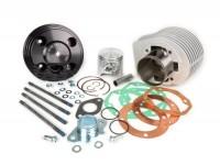 Cylinder -PARMAKIT TSV66 ''sixty six'' 205ccm, 110mm con-rod, Ø16mm piston pin, 60mm stroke, 3 Ports- Vespa PX125, PX150, Cosa125, Cosa150, GTR125, TS125, Sprint Veloce (VLB1T 0150001-)