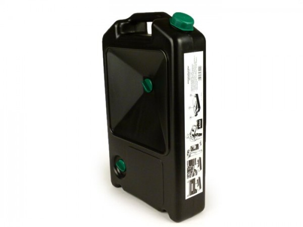 Recogedor aceite 8L -HÜNERSDORFF- negro