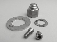 Lock washer set rear hub nut -LAMBRETTA M7- LI (series 2-3), LIS, SX, TV (series 2-3), DL, GP - Edelstahl