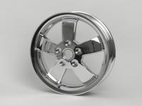 Felge -PIAGGIO 3.00-12 Zoll- Vespa GT, GTL, GTS, GTV - ohne ABS - Chrom