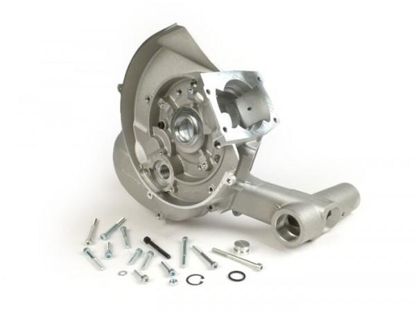 Motorgehäuse -QUATTRINI C200- für Zylinder M200 - Vespa V50, V90, SS50, SS90, V50 SR, PV125, ET3, PK50 S/XL, PK50 S/XL, PK80 S/XL, PK125 S/XL, PK125 ETS
