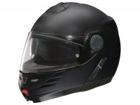 Helm -FM-HELMETS RS71 (Made in Italy)- Klapphelm schwarz matt - M (57-58 cm)