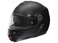 Casco -FM-HELMETS RS71 (Prodotto in Italia)- casco ribaltare nero opaco - M (57-58 cm)