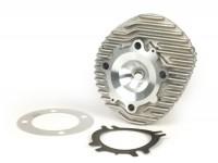 Culata -POLINI 207 / 210 cc Aluminio- Vespa PX200 - Ø=68,5mm - 60mm elevación (elevación se equilibra con la culata)