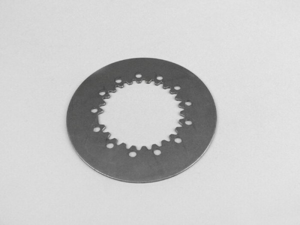 Clutch steel disc -PIAGGIO Vespa type 6 springs- (PX80, PX125, PX150)
