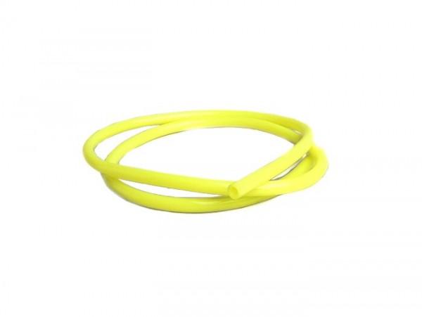 Tubo de gasolina -CALIDAD OEM- Ø interior=5mm, Ø exterior=8mm, l=1000mm - amarillo