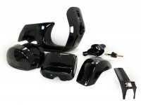 Frame (b-stock) -LML, drum brake- LML Star - including mudguard, side panels, tool box, handlebar, horn cover - black