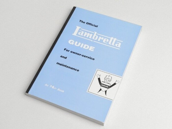 Livre -Lambretta, Guide for owner-service and maintenance-