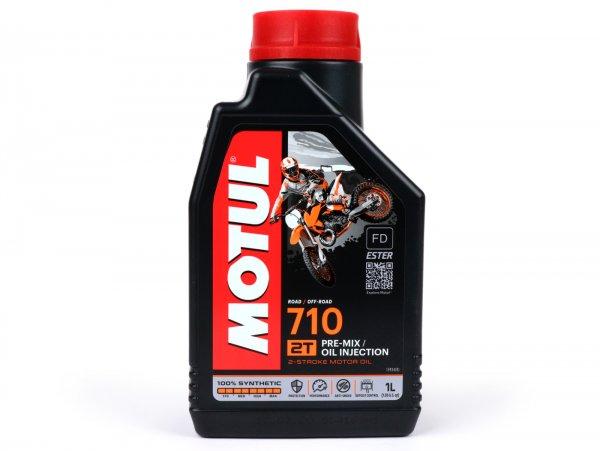 Öl -MOTUL 710- 2-Takt vollsynthetisch - 1000ml