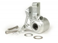 Front brake caliper bracket -AF PARTS CNC Touring, radial- Vespa PK, PX (1998-), My, 2011, Cosa, LML, Stella - silver