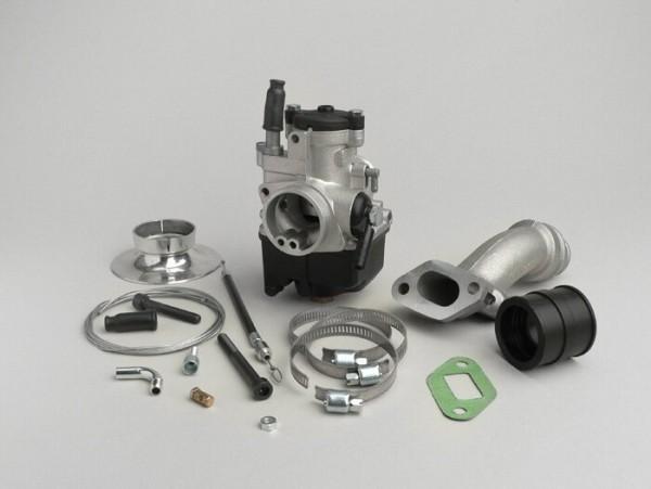 Vergaserkit -MALOSSI 2-Loch, 25mm Dellorto PHBL, Drehschieber- Vespa V50, PV, ET3