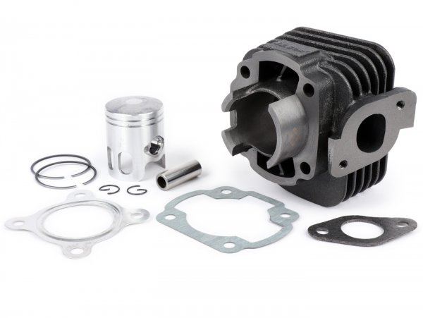 Cylinder -101 OCTANE 50ccm- CPI, Keeway Euro 2 (straight exhaust flange)