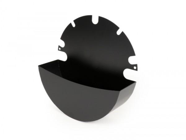 Caja herramientas para cófano -MRP Sparewheelbox- Vespa PX, T5 125cc - negro