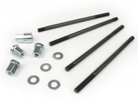 Cylinder head nut/studs kit M8 x 165mm -BGM PRO- Lambretta LI, LIS, SX, TV (2nd series, 3rd series), DL, GP