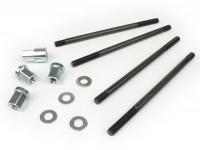 Kit pernos de sujeción M8x165mm, tuercas para culata incl. -BGM PRO- Lambretta LI, LIS, SX, TV (serie 2, serie 3), DL, GP