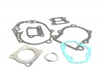 Engine gasket set -RMS- Peugeot 50cc AC (vertical cylinder) - SPEEDFIGHT1 50cc AC, SPEEDFIGHT2 50cc AC, TKR50, TREKKER50, VIVACITY50, ELYSEO50, SQUAB50, SV50, ZENITH50, BUXY50, ELYSTAR50, LOOXOR50, SPEEDAKE