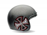 Helm -BELL Custom 500 Special Edition, Indy- Jethelm, schwarz -